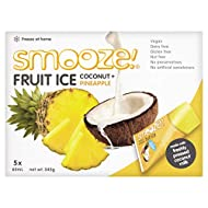 Smooze Pineapple Fruit Ice Lollies 5 x 65ml (Pack of 6)