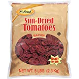 Roland Foods Sun-Dried Tomato Halves, Specialty Imported Food, 5-Pound Bag