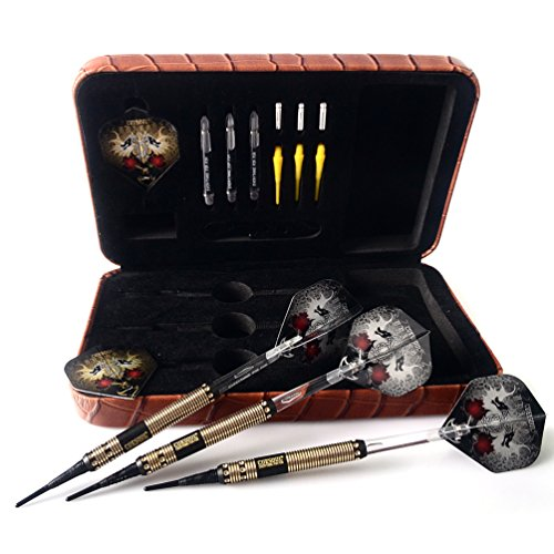 CUESOUL Dragon Deluxe Soft Dartpfeile Set with Luxury Case, 16 Gram (B1102)