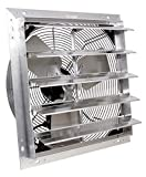 VES Exhaust Fan, Shutter Fan, Box Fan, with 9 Foot Cord 3 Speed for Indoor or Outdoor Ventilation (24 Inches)