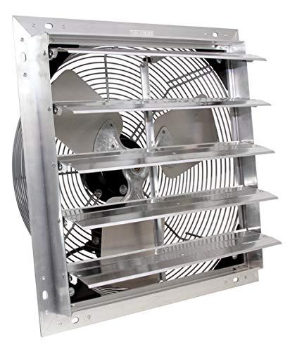 VES Exhaust Fan, 3 Speed Shutter Fan with 9 Foot...