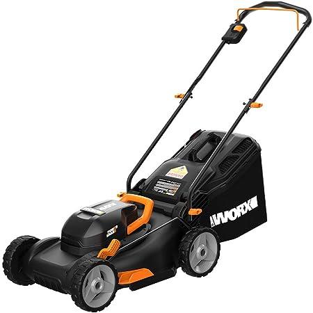 "WORX WG743 40V Power Share 4.0Ah 16"" Cordless Lawn Mower"
