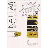 NAILLAB Nagelfolie - Selbstklebende Nagelfolien als einfache & zeitsparende Alternative für Nagellack - Langanhaltende nail wraps in vielen Farben - Nagelaufkleber | nail sticker | folie