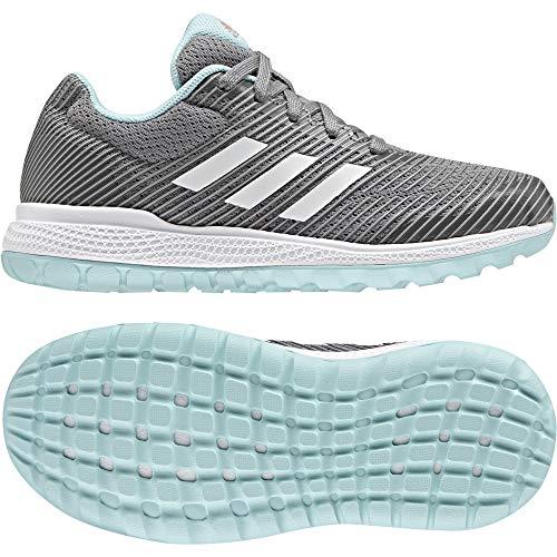adidas Mana Bounce 2 c - Zapatillas de deportepara niños, Gris - (GRPUMG/FTWBLA/SUABRI), 30