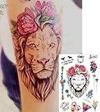 LÖWEN 77 - Tatuaje de flores