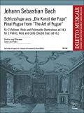 Johann Sebastian Bach-Final Fugue From The Art Of Fugue-2 - Violín, violín y violonchelo