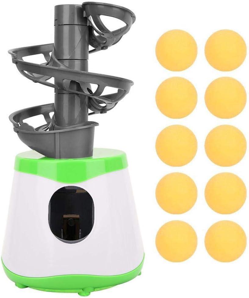 Lanzador para Practicar Tenis de Mesa, Máquina de Entrenamiento de Ping-Pong