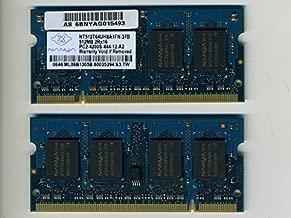 【中古】NANYA PC2-4200S-444-12-A2 512MBx2枚(合計1GB) 200pin
