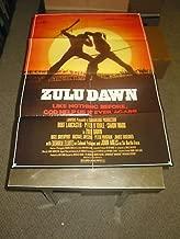 ZULU DAWN /ORIG. U.S. ONE SHEET MOVIE POSTER (BURT LANCASTER/PETER O'TOOLE)