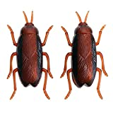 Yzibei Pet Robot emular escarabajos Cucaracha Insecto Novedad Diversión Travesura Electrónica Mascota Juguete Trick-Playing Bugs Simulación Scary Insect Gadget Truco Niños
