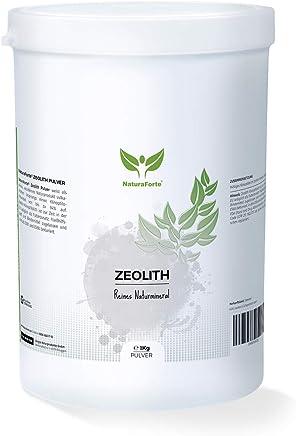 NaturaForte Zeolith Klinoptilolith Pulver 1000g - Extra fein in Premiumqualität, geprüft und kontrolliert in Deutschland