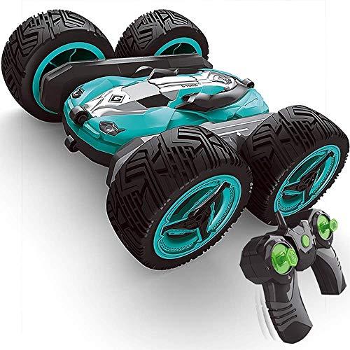 Modelo del coche del truco del coche que cae remoto de coches de juguete Boy Control de coches de 2,4 GHz Todoterreno juguete Carga velocidad de oruga de alta escalada de coches Todo Terreno coche que