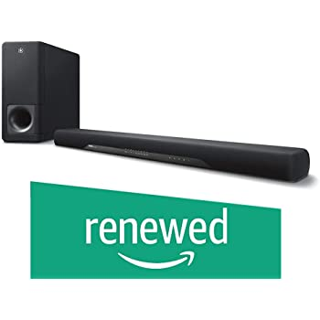 Yamaha YAS-207BL Sound Bar with Wireless Subwoofer Bluetooth & DTS Virtual Black (Renewed)