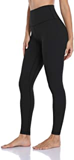 Hawthorn Athletic Essential Full Length Workout Leggings for Women High Waisted, Compression Yoga Pants 28''