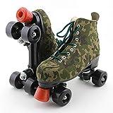 HealHeatersⓇ Quad Roller Skates Zweireihige Rollschuhe Für Mädchen Und Frauen Indoor/Outdoor...