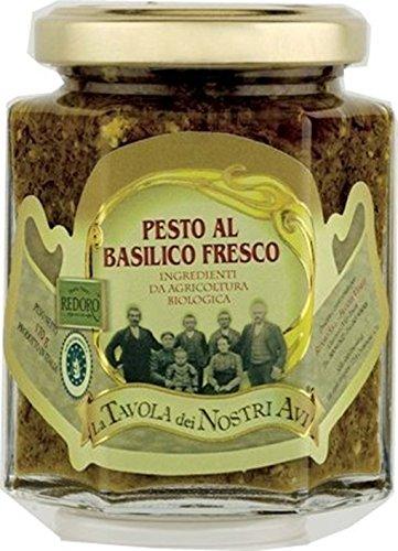 Bio Pesto Grüner Basilikum 170 g - pesto al basilico fresco, bio