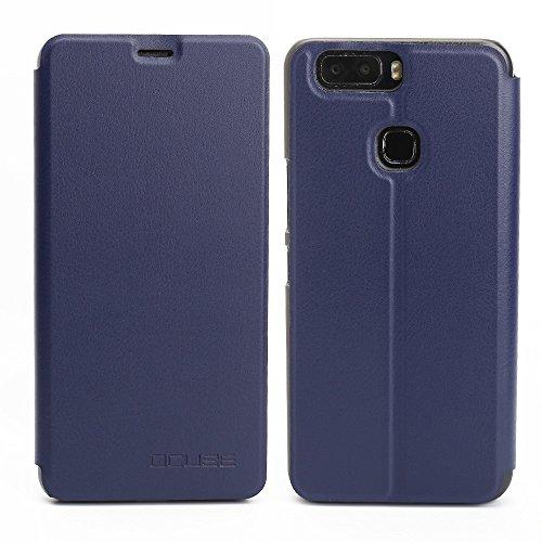 Handyhülle für Leagoo S8 Pro 95street Schutzhülle Book Case für Leagoo S8 Pro, Hülle Klapphülle Tasche im Retro Design mit Praktischer Aufstellfunktion - Etui Blau