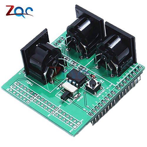 MIDI Shield musical tablero Breakout instrumento placa adaptador de interfaz digital para compatible Arduino adaptador módulo de placa