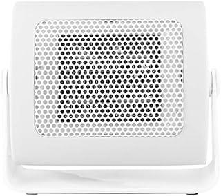 GOYOO Cerámica Calefactor 110 ° Manual rotación para escritorios y mesas, Silencioso,Blanco