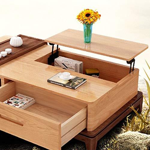 Sollevamento Top Tavolino meccanismo di sollevamento telaio cerniera Hardware Raccordo con telaio pieghevole Pieghevole da scrivania (nero)