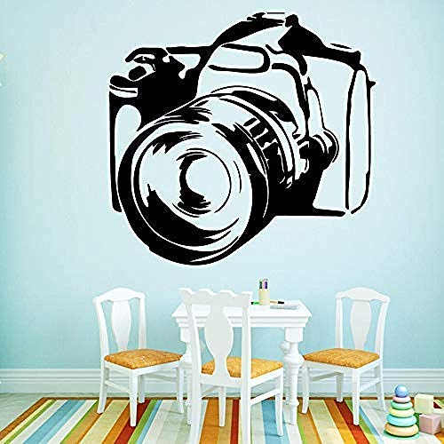 Cartoon Camera Wallstickers PVC Art Decoratie Chambre Muren voor Kinderen Kamers PVC Decals 43 X 45Cm