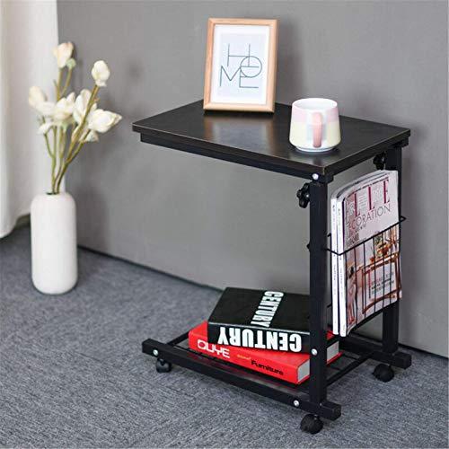 AMRT Mesita de noche extraíble, mesa auxiliar, mesa de ordenador, sofá pequeño,...