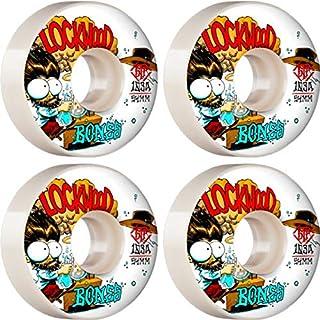Bones Skateboard Wheels 51mm Gustavo Bed-Stuy V1 Standard STF 103A with Bones Reds Bearings