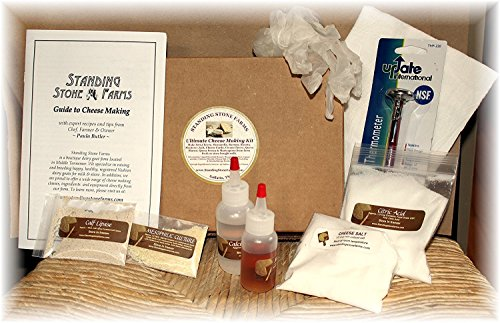 Standing Stone Farms Ultimate Cheese Making Kit -...