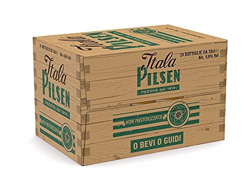 Birra Itala Pilsen - Cassa da 24 Bottiglie da 33 cl
