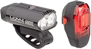 LEZYNE Micro Drive 600Xl Black/Black Ktv Front/Rear