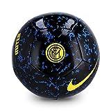 Nike Inter NK PTCH-FA20 Ballons Match Football Unisex-Adult, Blue Spark/Black/(Tour Yellow), 5