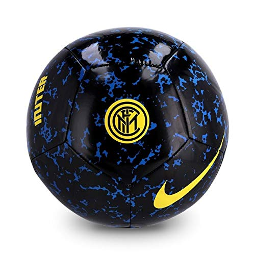 Nike Inter NK PTCH-FA20, Pallone da Calcio Unisex Adulto, Blue Spark/Black/(Tour Yellow), 5