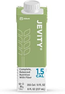 Jevity 1.5 Cal Unflavored High Protein Nutrition Drink 8 Ounce Carton 24 Case x 4 Pack