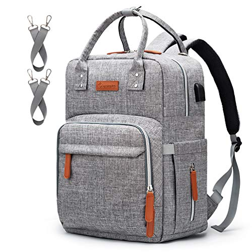 Diaper Bag Backpack Upsimples Multi-Function...
