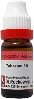 Dr. Reckeweg Germany Homeopathic Tabacum (30 CH) (11 ML) by Exportdeals