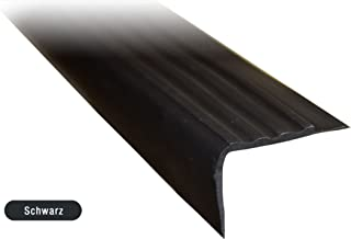 Treppenkantenprofil PVC Gummi SELBSTKLEBEND Vinyl Winkelprofil 52x40 RGPT BEIGE 150CM