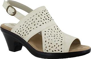 Easy Street Women Sandal,Ivory,7.5 N US