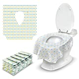 Disposable Toilet Seat Covers for Kids - 30 Pack - Extra Large Portable Liners for...