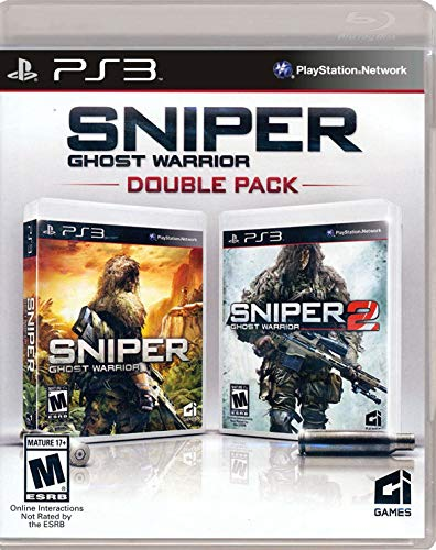 Sniper Ghost Warrior Double Pack Playstation 3