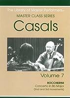 Casals Master Class Series Vol. 7 (DVD-R)