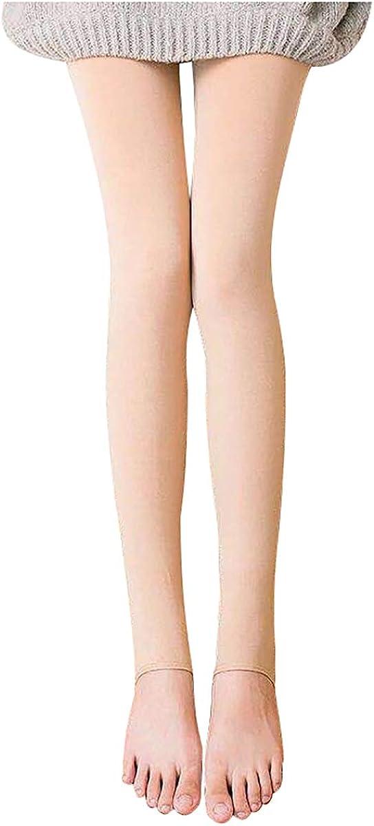 LKXHarleya Women's Winter Warm Tights Fleece Lining Opaque Pantyhose Thermal Leggings