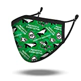 NCAA North Dakota Fighting Hawks, 100% Cotton, Double Layer, Washable & Reusable, Non-Medical Face Mask