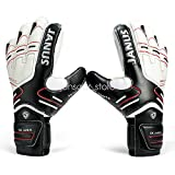 Kids Children Adult & Youth Professional Soccer Goalkeeper Gloves with Finger Protection Latex...