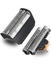 30B Shaver Cutter Blade Foil Head Compatible con la afeitadora electrónica Braun Series 3 afeitadoras de la generación anterior SmartControl,TriControl,7000/4000(340s)