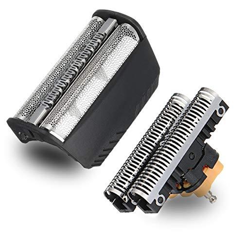 Série 3 30B Rasoir Flottant Complet Screem & Cutter Tête de Remplacement 30B Compatible avec Braun Electronic Shaver Previous Generation SmartControl, TriControl, 7000/4000 rasoirs et Series 3 (340s)