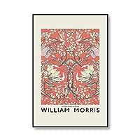 """ウィリアムモリスヴィンテージインテリア家の装飾キャンバスウォールアート絵画写真リビングルームの装飾のための壁の装飾60x90cm24""""x36""""(フレームなし)"""