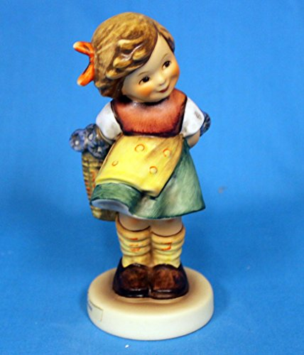 Hummel – Figurine – timide – Fleur en porcelaine – Goebel