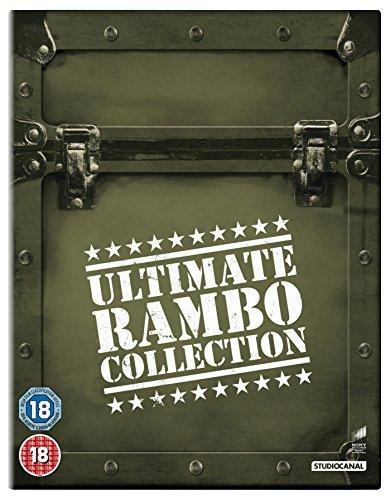 Rambo 1-4 [Edizione: Regno Unito] [Italia] [Blu-ray]