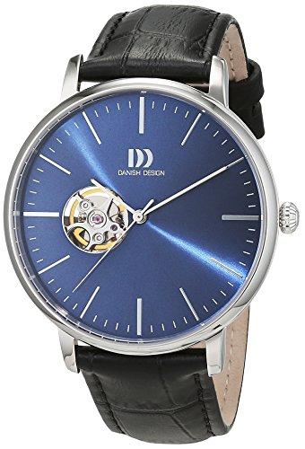 Danish Design 3314520 - Orologio da polso Uomo, Pelle, colore: Nero