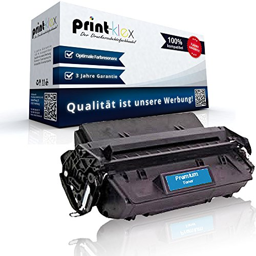Print-Klex kompatibler Toner für HP Laserjet 2300 2300D 2300DN 2300DTN 2300L 2300N 2300TN 2300M Q2610A 2610A 10A XXL, 6.000 Seiten